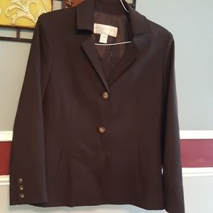 DONCASTER  Brown Wool blazer size 12
